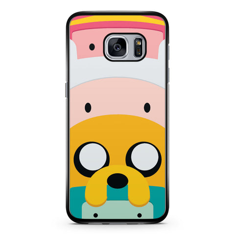 Cute Adventure Time Samsung Galaxy S7 Case Cover ISVA414