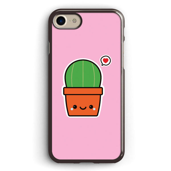 Cute Cactus Apple iPhone 7 Case Cover ISVA494