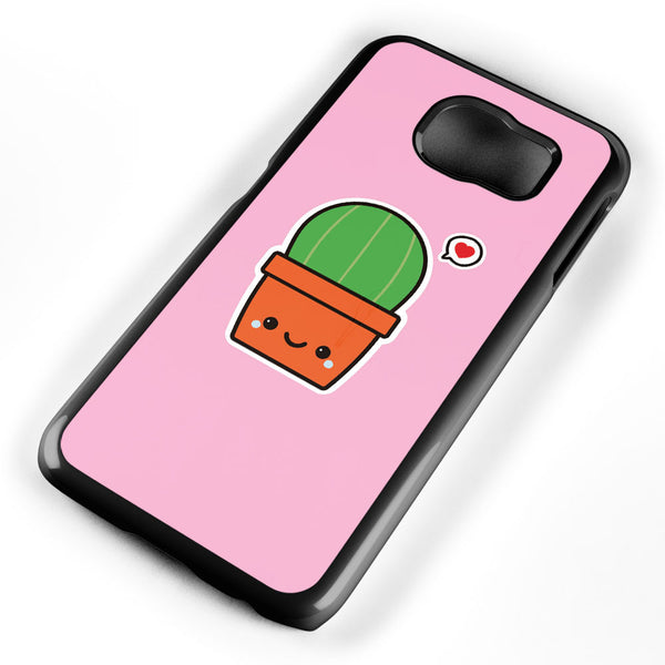 Cute Cactus Samsung Galaxy S6 Case Cover ISVA494