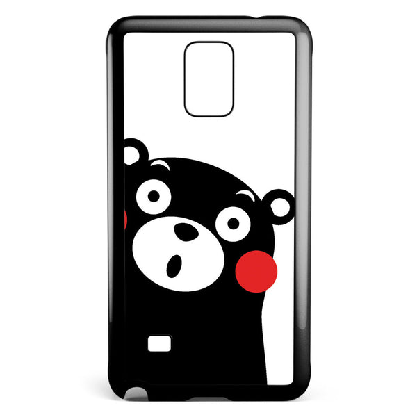 Cute Kumamon Samsung Galaxy Note 4 Case Cover ISVA492