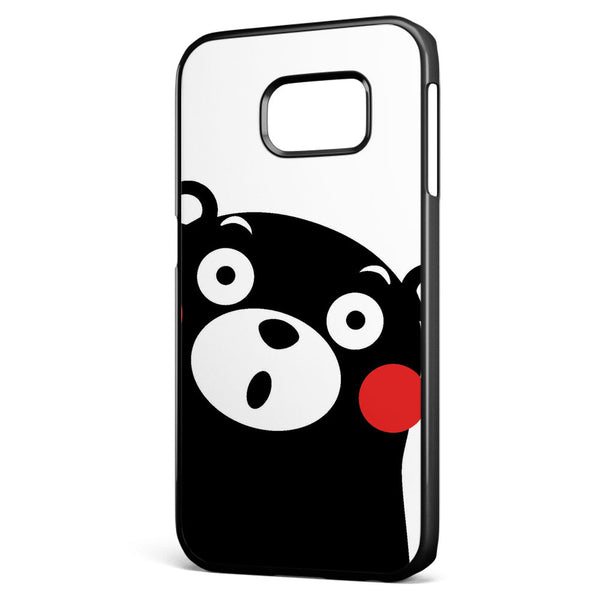 Cute Kumamon Samsung Galaxy S6 Edge Case Cover ISVA492