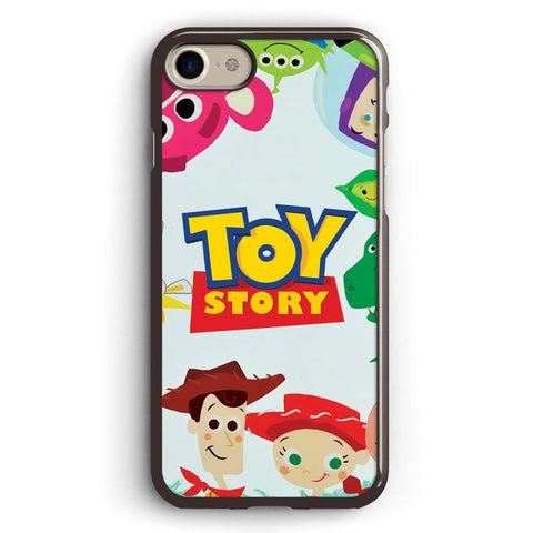 Cute Toy Story Characters Apple iPhone 7 Case Cover ISVA040