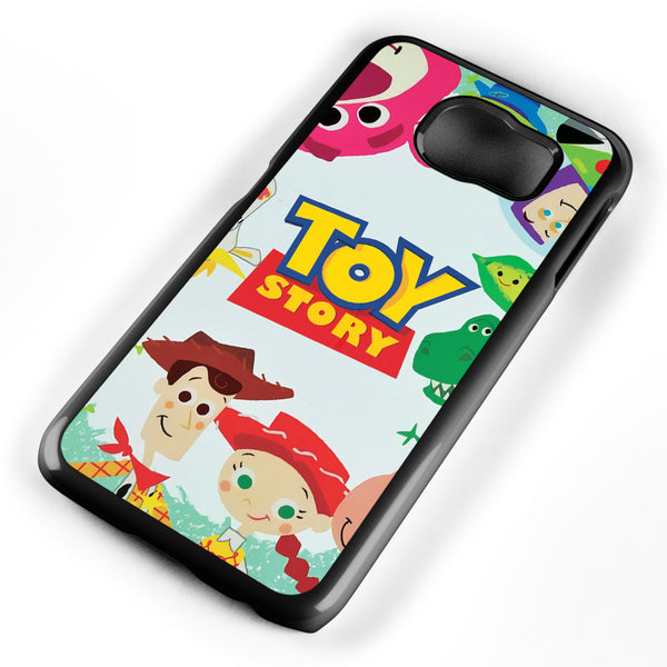 Cute Toy Story Characters Samsung Galaxy S6 Case Cover ISVA040