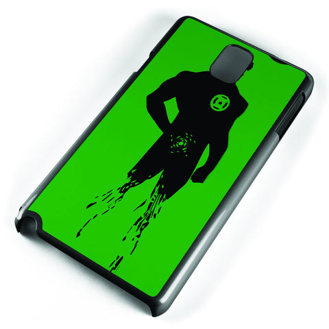 Dc Superheroes Green Lantern Silhouette Samsung Galaxy Note 3 Case Cover ISVA175