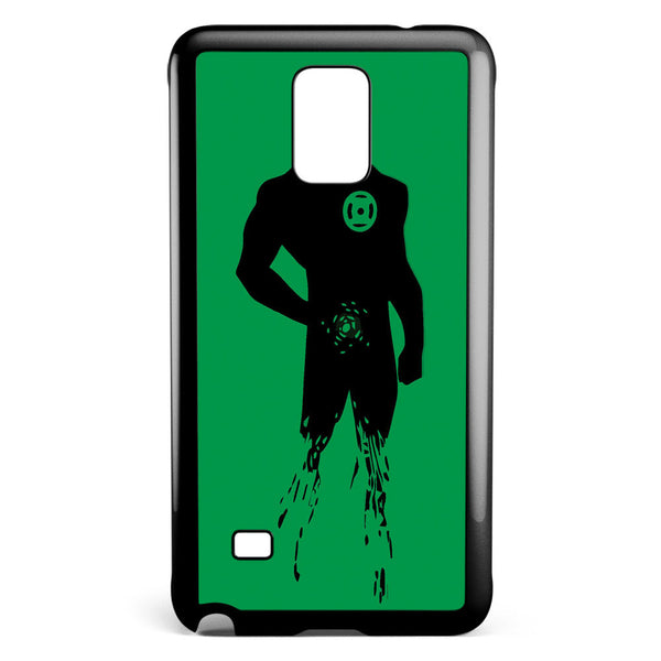 Dc Superheroes Green Lantern Silhouette Samsung Galaxy Note 4 Case Cover ISVA175