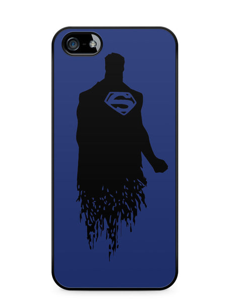 Dc Superheroes Superman Silhouette Apple iPhone SE / iPhone 5 / iPhone 5s Case Cover  ISVA173