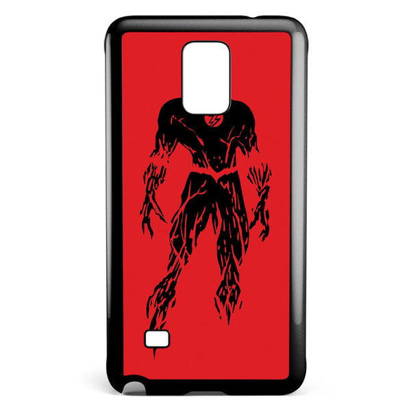 Dc Superheroes the Flash Silhouette Samsung Galaxy Note 4 Case Cover ISVA174