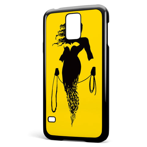 Dc Superheroes Wonder Woman Silhouette Samsung Galaxy S5 Case Cover ISVA176