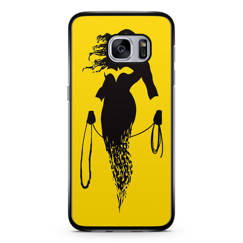 Dc Superheroes Wonder Woman Silhouette Samsung Galaxy S7 Case Cover ISVA176