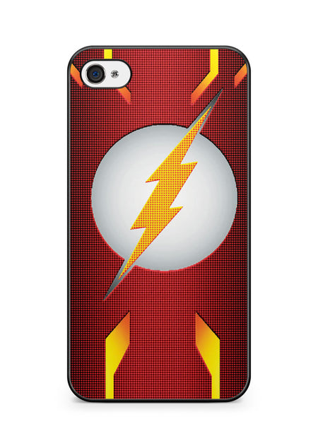 Dc the Flash Logo Apple iPhone 4 / iPhone 4S Case Cover ISVA309