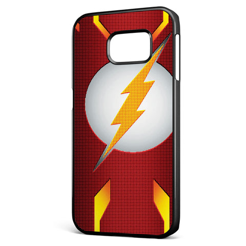 Dc the Flash Logo Samsung Galaxy S6 Edge Case Cover ISVA309