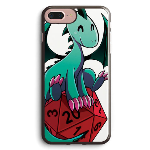D&d Dragons and Dice   green Dragon Apple iPhone 7 Plus Case Cover ISVG063