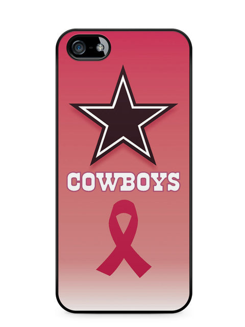 Dallas Cowboys Pink Ribbon Apple iPhone SE / iPhone 5 / iPhone 5s Case Cover  ISVA091