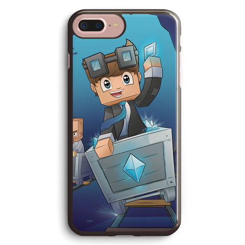 Dantdm the Diamond Minecart Apple iPhone 7 Plus Case Cover ISVA545