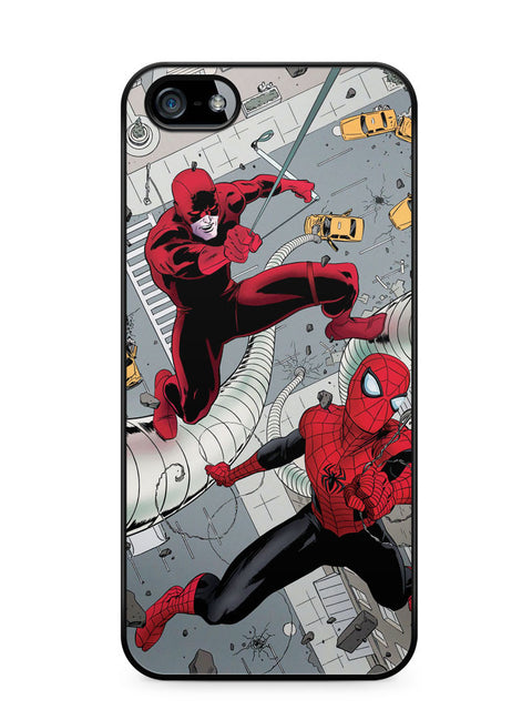 Dardevil and Spiderman Apple iPhone 5c Case Cover ISVA469