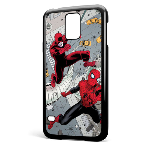 Dardevil and Spiderman Samsung Galaxy S5 Case Cover ISVA469
