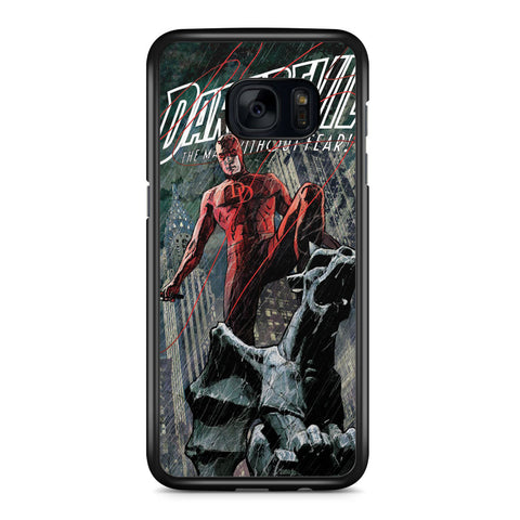 Daredevil the Man Without Fear Samsung Galaxy S7 Edge Case Cover ISVA470