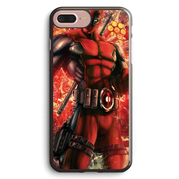 Deadpool Cool Style Apple iPhone 7 Plus Case Cover ISVF038