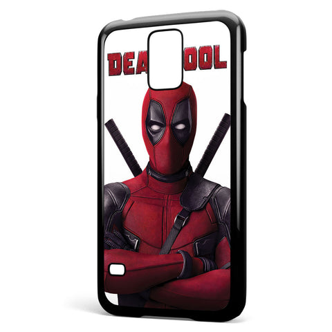 Deadpool Movie Poster Samsung Galaxy S5 Case Cover ISVA046