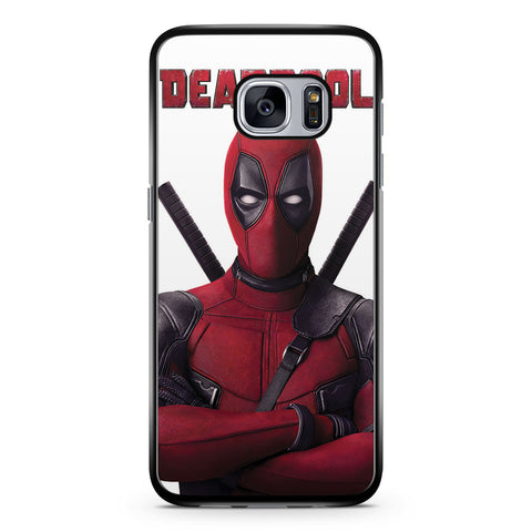 Deadpool Movie Poster Samsung Galaxy S7 Case Cover ISVA046