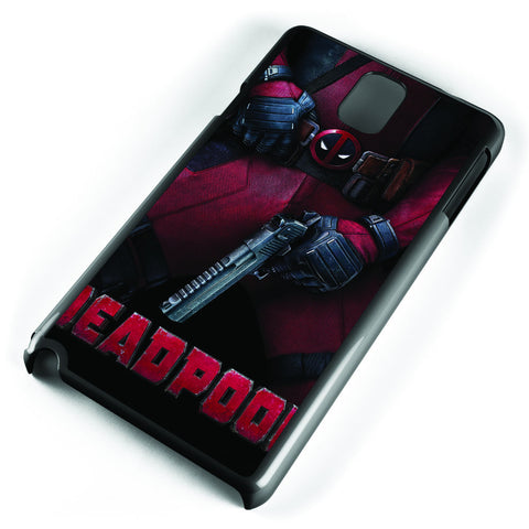 Deadpool Movie Posters Samsung Galaxy Note 3 Case Cover ISVA051