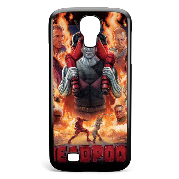 Deadpool Poster Samsung Galaxy S4 Case Cover ISVA047
