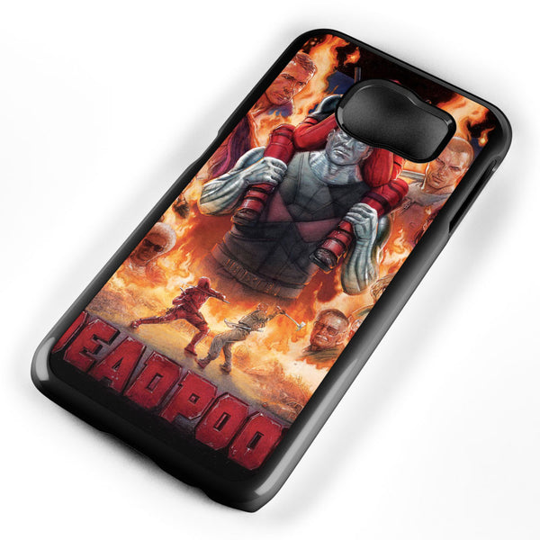 Deadpool Poster Samsung Galaxy S6 Case Cover ISVA047