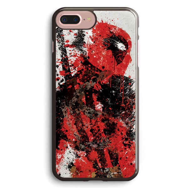 Deadpool Splatter Apple iPhone 7 Plus Case Cover ISVA054