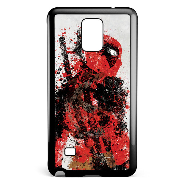Deadpool Splatter Samsung Galaxy Note 4 Case Cover ISVA054