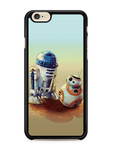 Discussion Bb 8 Vs R2 D2 Star Wars Apple iPhone 6 / iPhone 6s Case Cover ISVA079