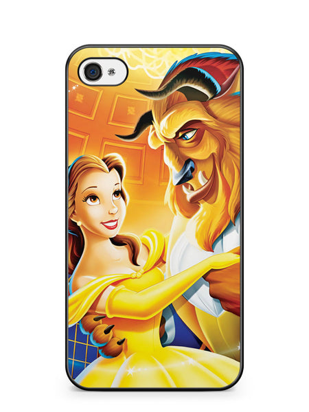 Disney Beauty and the Beast Apple iPhone 4 / iPhone 4S Case Cover ISVA025