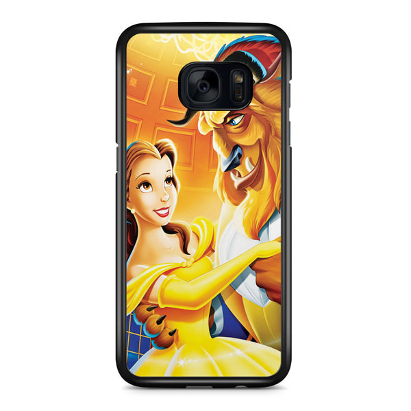 Disney Beauty and the Beast Samsung Galaxy S7 Edge Case Cover ISVA025