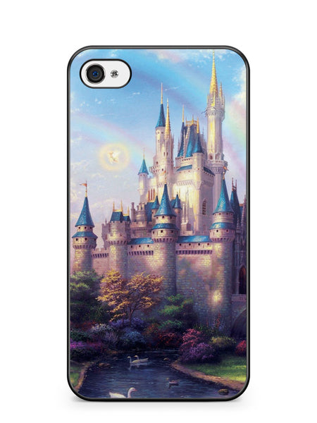 Disney Castle Rainbow Apple iPhone 4 / iPhone 4S Case Cover ISVA461