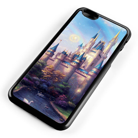 Disney Castle Rainbow Apple iPhone 6 Plus / iPhone 6s Plus ISVA461