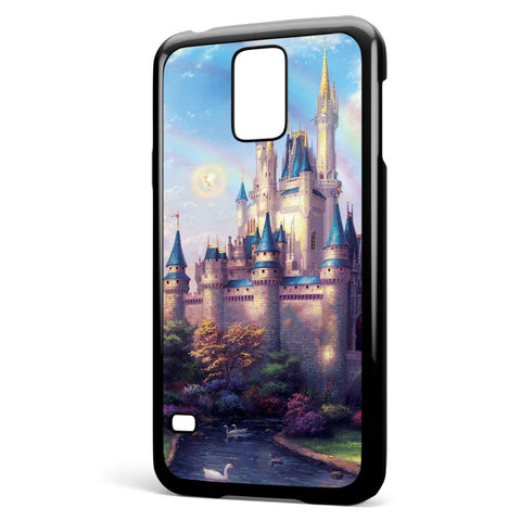 Disney Castle Rainbow Samsung Galaxy S5 Case Cover ISVA461
