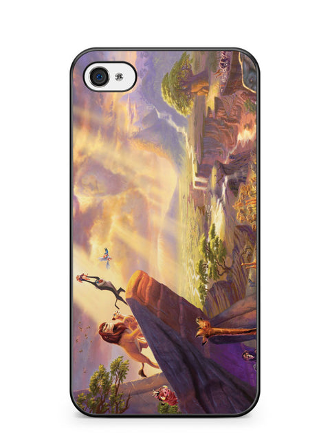 Disney Lion King Apple iPhone 4 / iPhone 4S Case Cover ISVA244