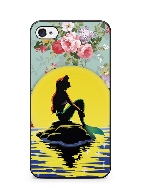 Disney Little Mermaid Fancy Apple iPhone 4 / iPhone 4S Case Cover ISVA583
