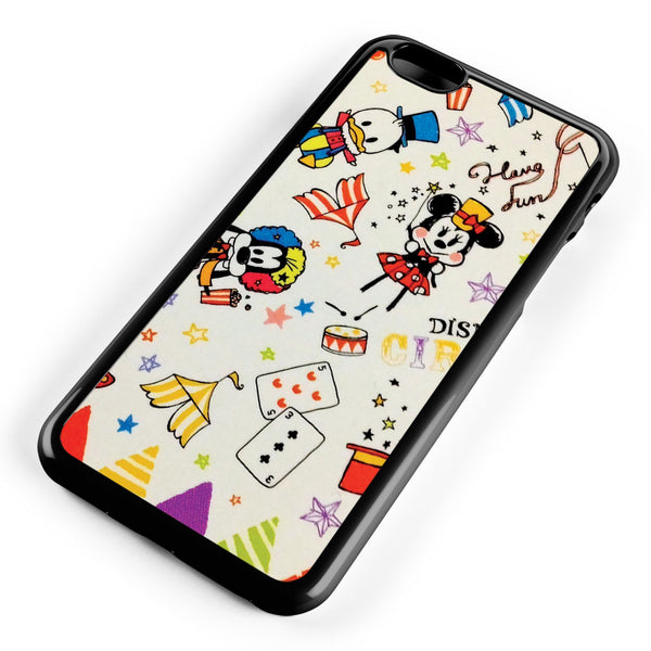 Disney Mickey Minnie Donald and Goofy Apple iPhone 6 Plus / iPhone 6s Plus ISVA452