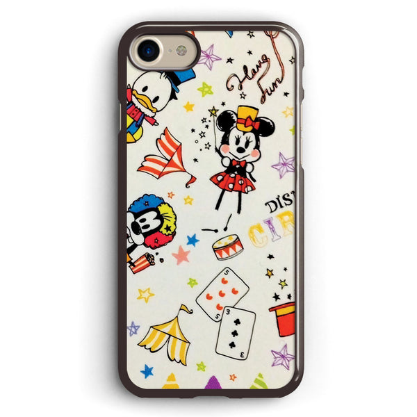Disney Mickey Minnie Donald and Goofy Apple iPhone 7 Case Cover ISVA452