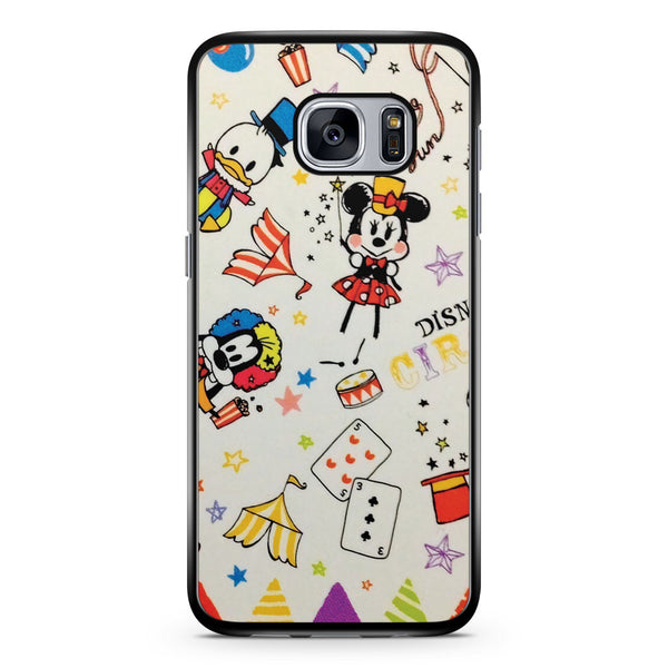 Disney Mickey Minnie Donald and Goofy Samsung Galaxy S7 Case Cover ISVA452