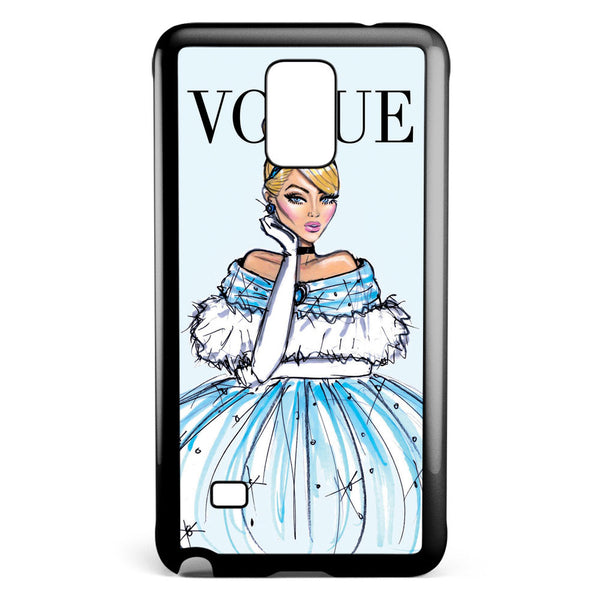 Disney Princess Cinderella Vogue Samsung Galaxy Note 4 Case Cover ISVA581
