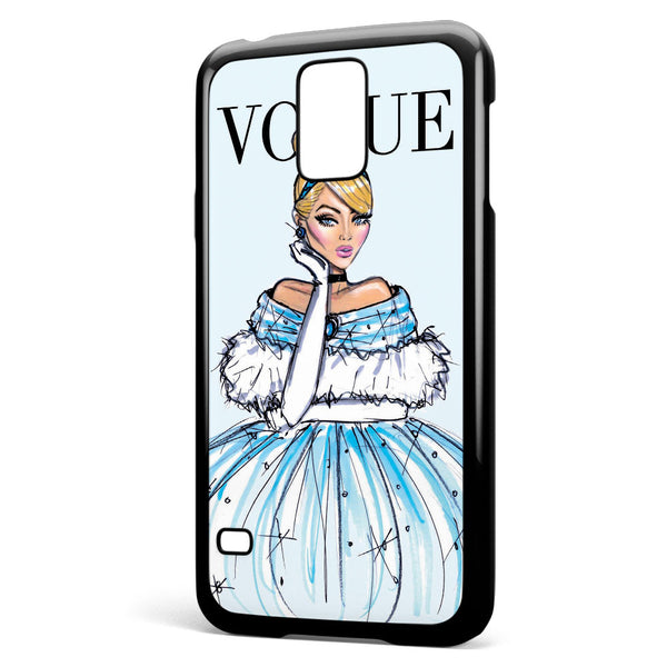 Disney Princess Cinderella Vogue Samsung Galaxy S5 Case Cover ISVA581