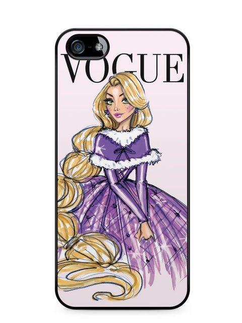 Disney Princess Rapunzel Vogue Apple iPhone 5c Case Cover ISVA576