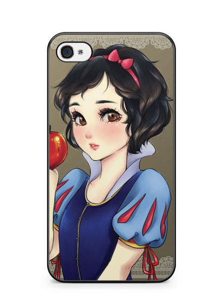 Disney Princess Snow White Anime Apple iPhone 4 / iPhone 4S Case Cover ISVA165
