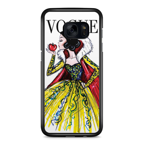 Disney Princess Snow White Vogue Samsung Galaxy S7 Edge Case Cover ISVA578