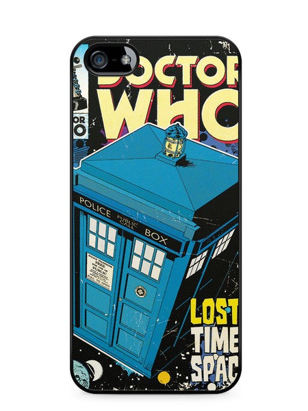 Doctor Who Tardis Poster Apple iPhone 5c Case Cover ISVA517