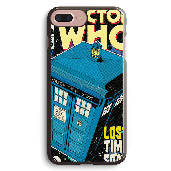 Doctor Who Tardis Poster Apple iPhone 7 Plus Case Cover ISVA517