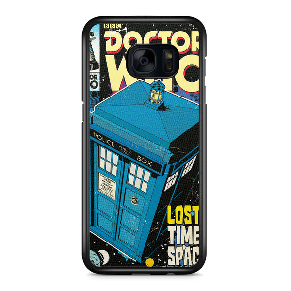 Doctor Who Tardis Poster Samsung Galaxy S7 Edge Case Cover ISVA517