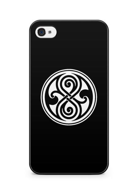Doctor Who Time Lord Symbol Apple iPhone 4 / iPhone 4S Case Cover ISVA427