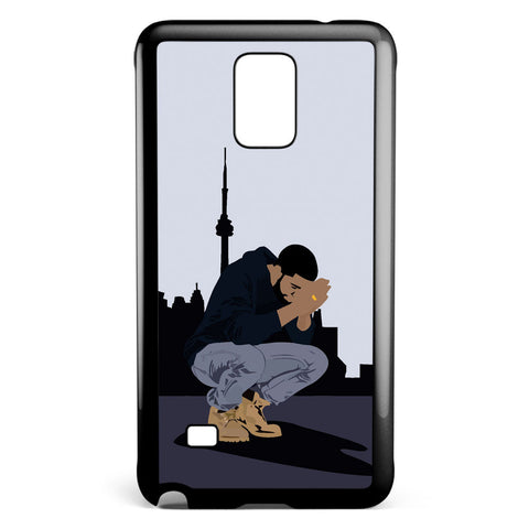 Drake, Seven Days and Drop in Samsung Galaxy Note 4 Case Cover ISVA480